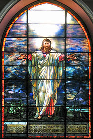 Tiffany Jesus Window in Pullman Memorial Universalist Church.jpg