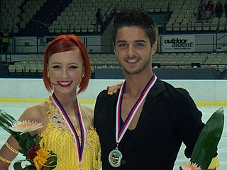 Alexis Miart French ice dancer