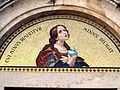 Tile above a Church Entrance in Pitigliano - panoramio.jpg
