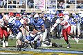 Tim Jefferson attempts pitch at 2008 Armed Forces Bowl 081231-F-6750A-076.jpg