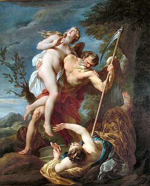 François Lemoyne - Time Saving Truth from Falsehood and Envy (1737) Completed on the day before the artist's suicide.