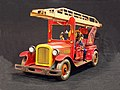 Tin toy fire truck, pic-012.JPG