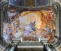 Tirth left chapel ceiling of Ceiling of Gesù e Maria (Rome).jpg