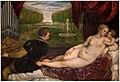 Tiziano - Venus recreándose con el Amor y la Música, Hacia 1555.jpg