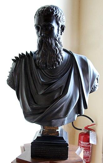 Marco Antonio Bragadin - Tiziano Aspetti, Marcantonio Bragadin (1571 ca.)