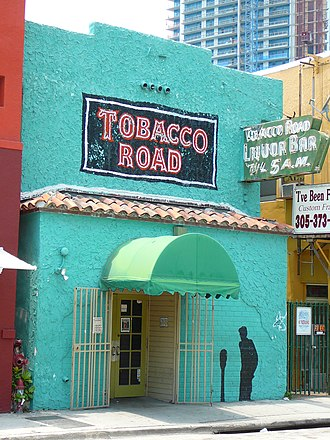 Tobacco Road (bar) - The Tobacco Road in May 2008