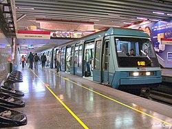Jefa de Causas del 13ª Juzgado de Garantía de Santiago conoce por fin el Metro de Santiago