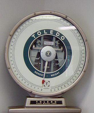 Mettler Toledo - Toledo dial scale