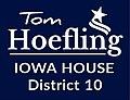 Tom Hoefling Iowa House campaign logo 2018.jpg