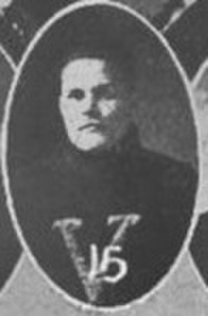 Tom Lipscomb - Lipscomb cropped from the 1914 team photo