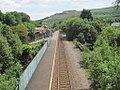Ton Pentre railway station, Rhondda Cynon Taf - geograph.org.uk - 4028268.jpg