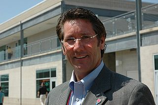 Tony George American auto racing executive