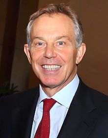 Tony Blair en 2011.