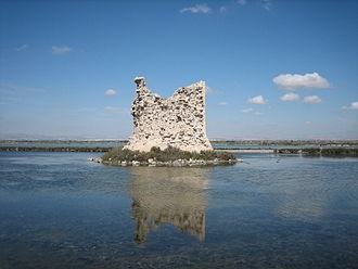 Baix Vinalopó - Torre de Tamarit in Salines de Santa Pola Natural Park