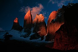 Torres del paine at sunrise.jpg