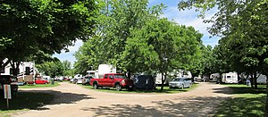 Tottenham Bluegrass Festival - Image: Tottenham camping