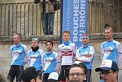 Tour La Provence 2019 - Avignon - présentation des équipes - Israel Cycling Academy (2).jpg