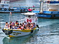 Tour boat in the Port of Valparaiso - Stierch.JPG