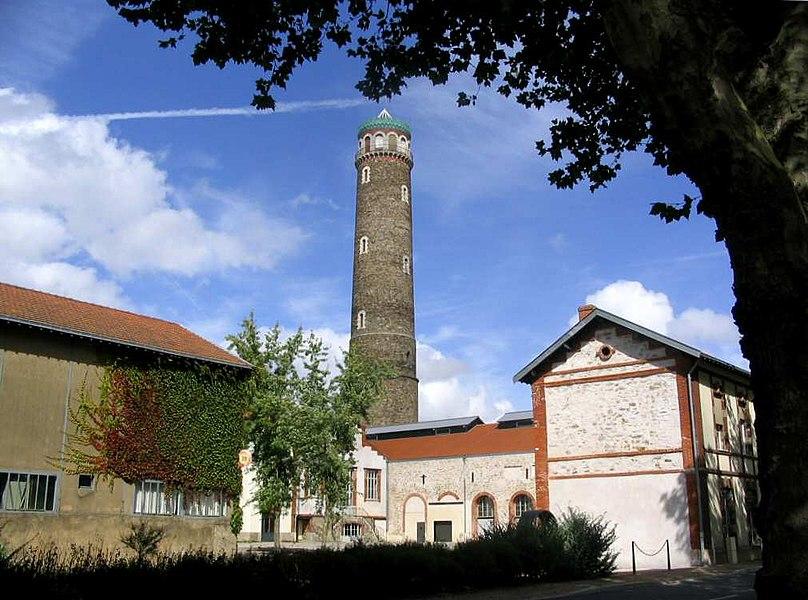La tour à plomb de Couëron