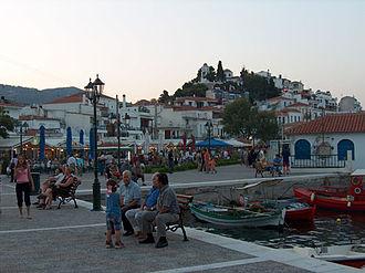 Skiathos (town) - A snapshot from Skiathos.
