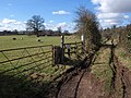 Track, Fordton - geograph.org.uk - 1748702.jpg
