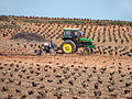 Tractor agrícola en los campos de El Toboso (DavidDaguerro).jpg