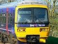 Train entering Great Bedwyn Station - geograph.org.uk - 1265835.jpg