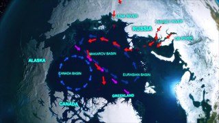 An ocean current of the Arctic Ocean