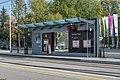Traun Straßenbahnhaltestelle Schloss Traun-4020.jpg
