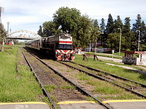 Ferrobaires - Interurban train outside Greater Buenos Aires.
