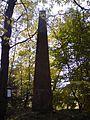 Trigonometrický bod na vrcholu Větrníku u Lišova.JPG