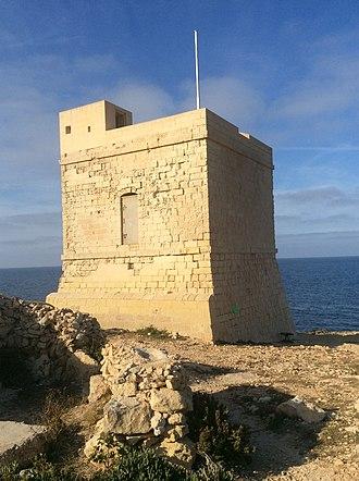 Triq il-Wiesgħa Tower - Image: Triq il Wiesgħa Tower