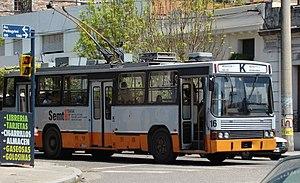 Trolebús Línea K Rosario