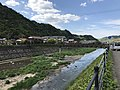 Tsuwanogawa River near Mori Ogai Memorial Museum (north) 1.jpg