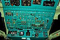 Tu-134. Cockpit. The top control panel. (4132917596).jpg