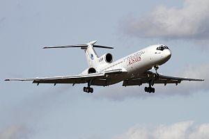 Kosmos Airlines - Tupolev Tu-154 of Kosmos Airlines landing in Moscow-Vnukovo
