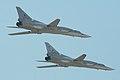 Tupolev Tu-22M3 Backfire-C RF-95955 44 red & RF-95956 22 red (8636207786).jpg