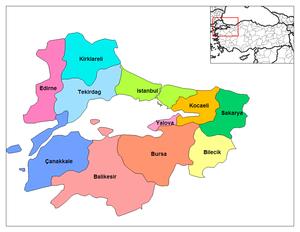 La région de Marmara
