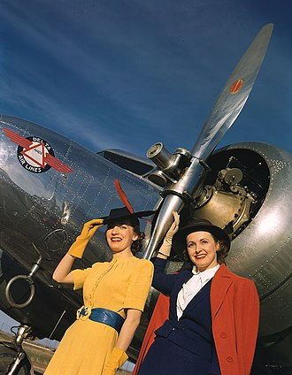Robert Yarnall Richie - Image: Two Models next to Lockheed 10B Electra, Delta Air Lines (8595048115)