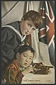 Two handy men. Postcard depicting the friendship between Britain and Japan during World War I. FL10286465.jpg