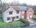 Two houses, Little Heath - geograph.org.uk - 337549.jpg