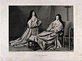 Two nuns at prayer. Engraving by G.R. Levillain after Lefort Wellcome V0035753.jpg
