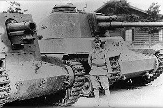 Type 4 Chi-To medium tank - Image: Type 4 Ho Ro & Type 4 Chi To
