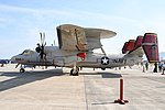 U.S.NAVY E-2D Advanced Hawkeye(168989) of VAW-125 left side view at MCAS Iwakuni May 5, 2019.jpg