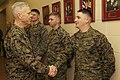 U.S. Marine Corps Gen. James F. Amos, left, the commandant of the Marine Corps, visits Marines at The Basic School at Marine Corps Base Quantico, Va., March 4, 2013 130304-M-LU710-015.jpg
