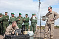 U.S. Marine Corps Lance Cpl. Richard Hager, left, an intelligence analyst, and Cpl. Kursten French, a scout sniper radio operator, both with Battalion Landing Team 1st Battalion, 2nd Marine Regiment, 24th Marine 120412-M-FR139-047.jpg