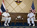 U.S. Pacific Commander Adm. Samuel J. Locklear meets with Thailand Chief of Defense Gen. Thanasak Patimaprakorn, December 5, 2013 - 131206-A-WQ644-0010.jpg