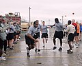 U.S. Soldiers and Coalitions forces participate in a Black History month activities 100226-N--281.jpg