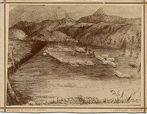 Fort Colville - Image: U. S. Fort Colville, Washington Territory