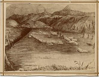Fort Colville - Image: U. S. Fort Colville, Washington Territory